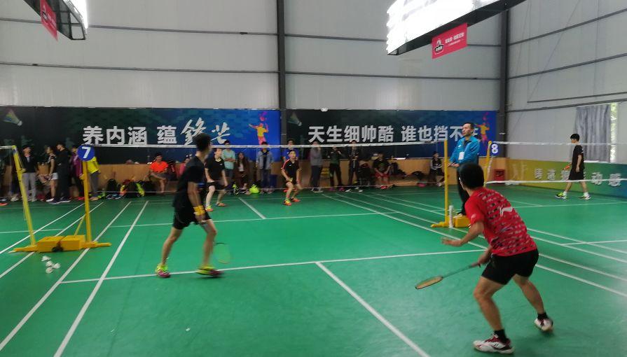 """2018""""我最锋芒""""福州草根羽毛球赛 单项赛激情挥拍!"""