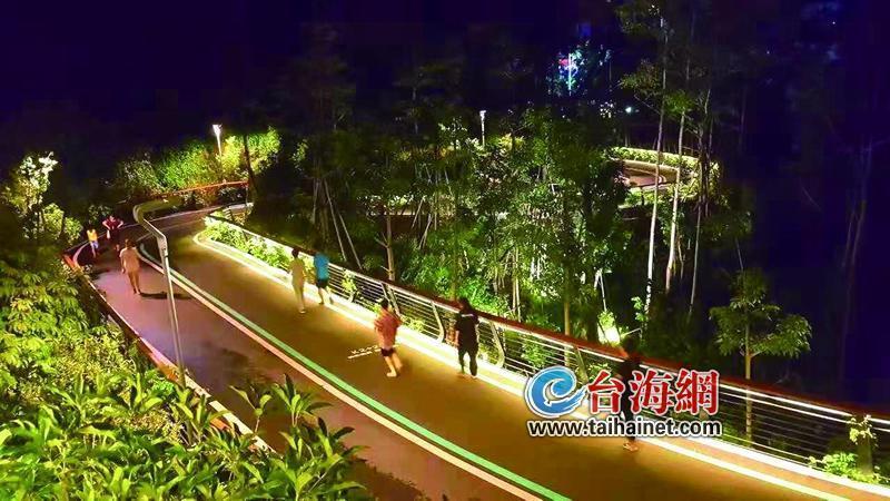 """福州:12个生态公园86公里""""福道"""" 一座城的幸福感"""