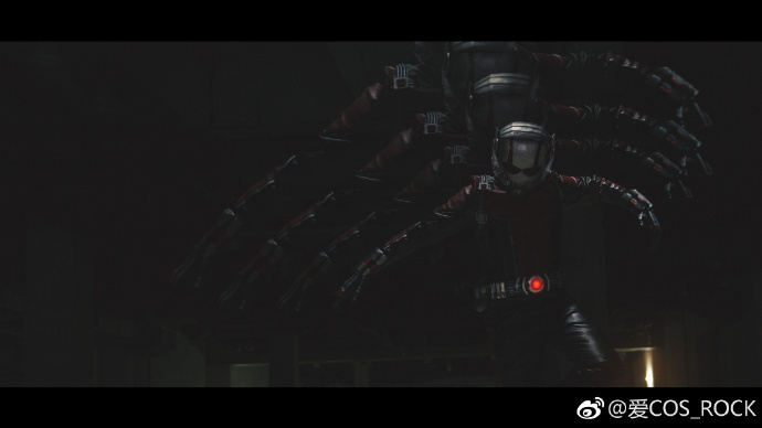 国内大神炫酷还原蚁人cos 造型帅气海报帅炸!