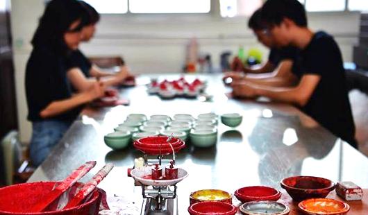 福建漳州国家级非物质文化遗产八宝印泥