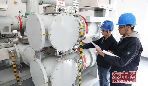 """福安首个全室内GIS智能变电站启用 服务""""城西""""发展"""