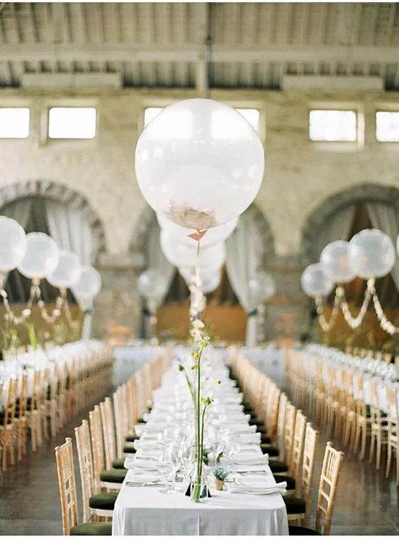唐嫣婚礼火了气球 浪漫的气球花艺要怎样设计?