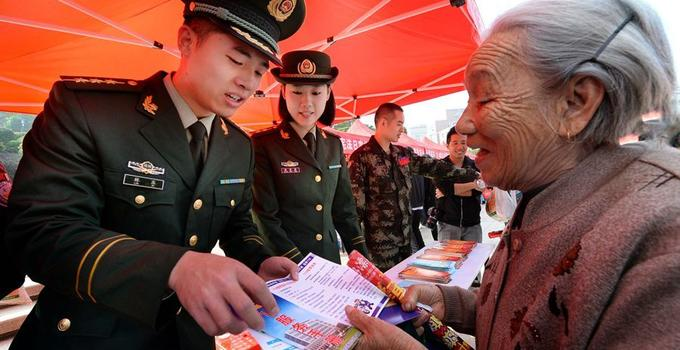 平潭公安边防支队宣传宪法 加强群众自发遵法认识