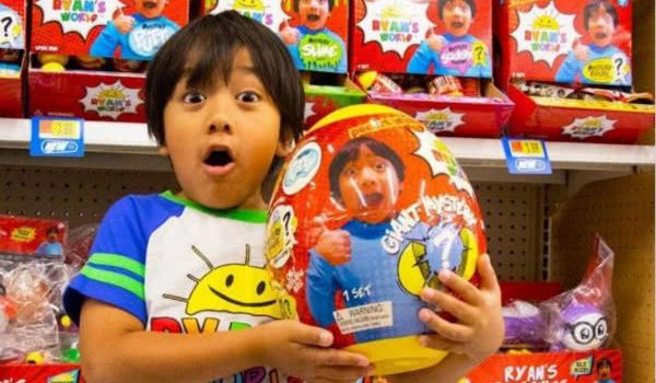 YouTube最赚钱主播是谁?7岁男孩瑞安年入2200万美元