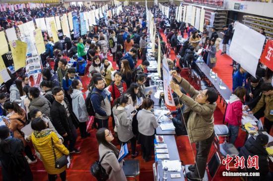 人社部:市场表现高校结业生失业岗亭多于求职人数