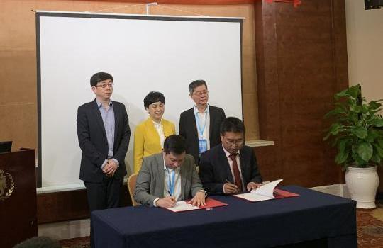 海南师大与菲律宾贝内迪克托学院签订协议增强人文教诲互助