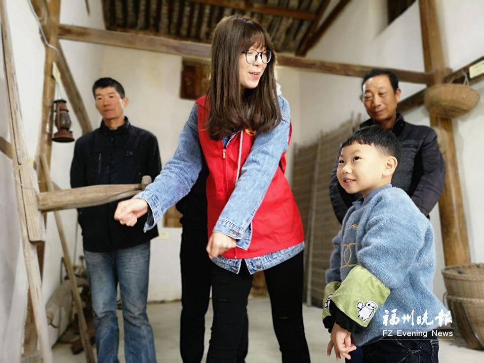 文化志愿者來到連江:講述漁家故事 傳承漁家文化