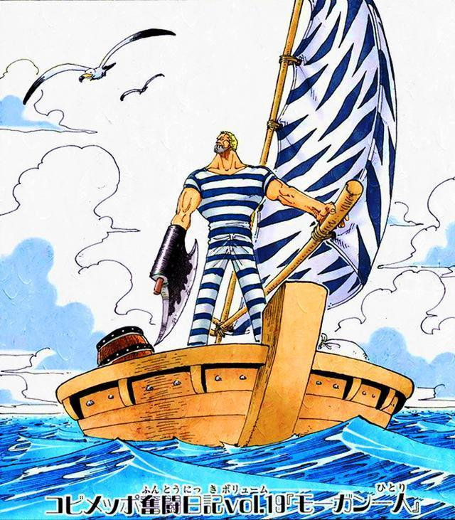 海贼王:斧手蒙卡曾击败卡普并全身而退 让卡普尝到败北滋味