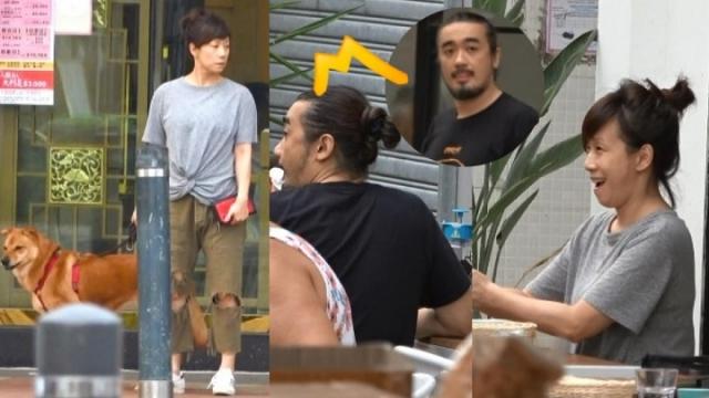 52岁林忆莲素颜现身 与小11岁男友遛狗秀恩爱
