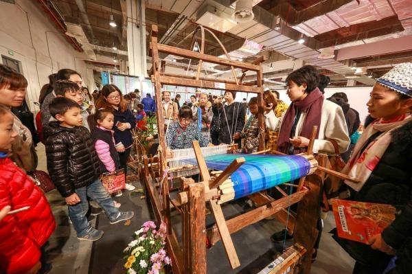"""在上海手造博覽會體驗""""非遺""""傳統手工藝之美"""