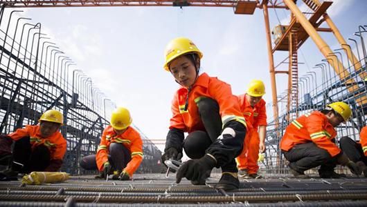新建福廈鐵路橋梁主體工程首孔箱梁順利澆筑