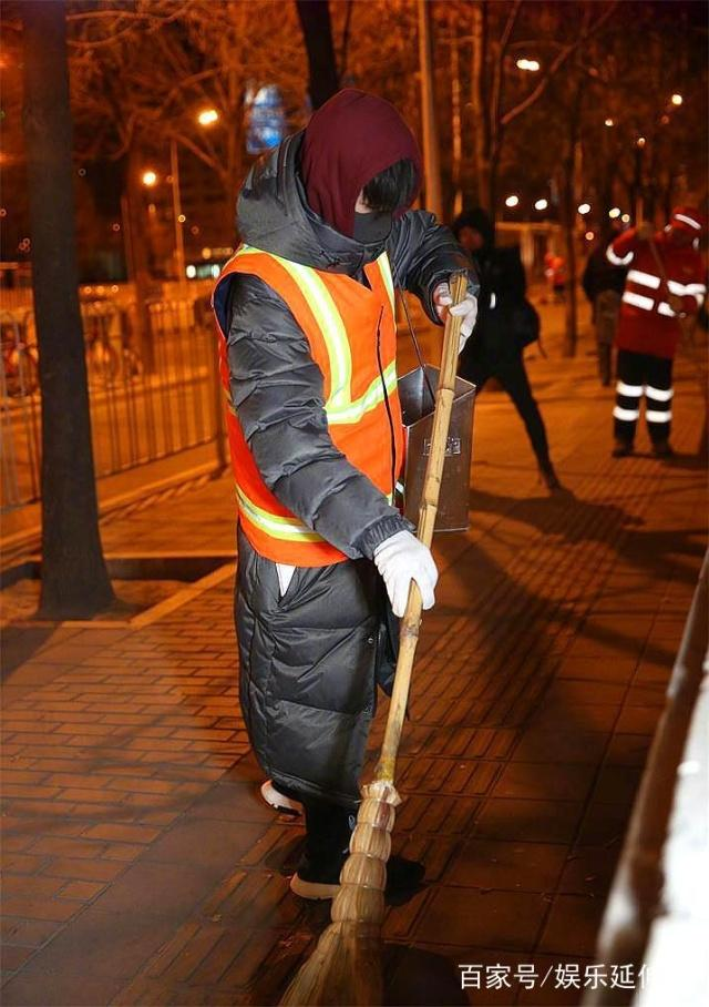 易烊千璽5點清掃街道照片曝光網友力贊!易烊千璽參加了什么活動嗎