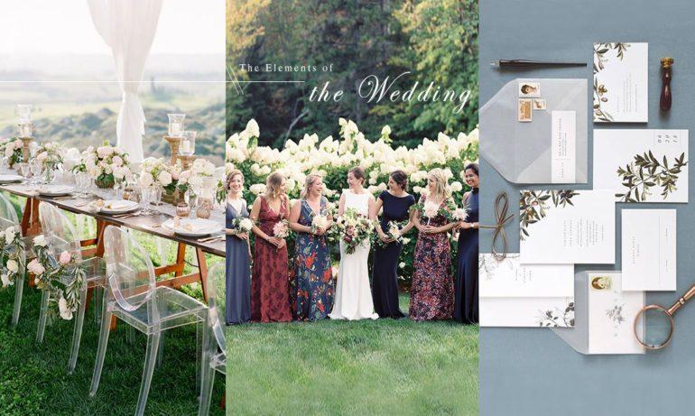 擺脫宴會廳的俗不可耐 7大元素打造當代時髦婚禮