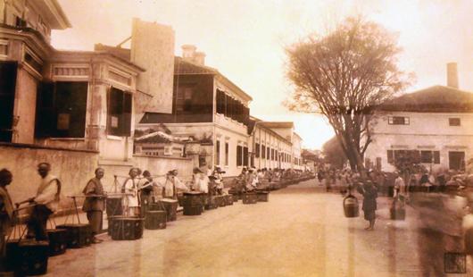 老照片带你穿越到百年前的福州城