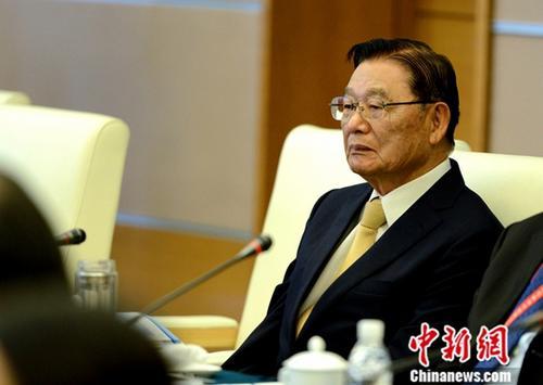 线上葡京娱乐场海基会前董事长江丙坤逝世 曾多次到访大陆