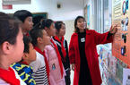 意彩娱乐:禁毒宣课堂进铜盘小学