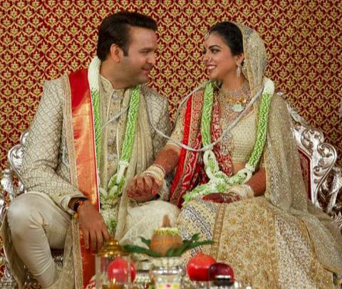 印度首富之女大婚 希拉里大秀宝莱坞舞蹈