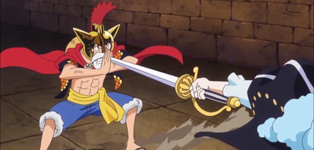 海贼王:空手接白刃的四大强者 山治你是在调情吗