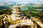 """千年""""海丝文明""""航标塔——福建石狮万寿塔"""