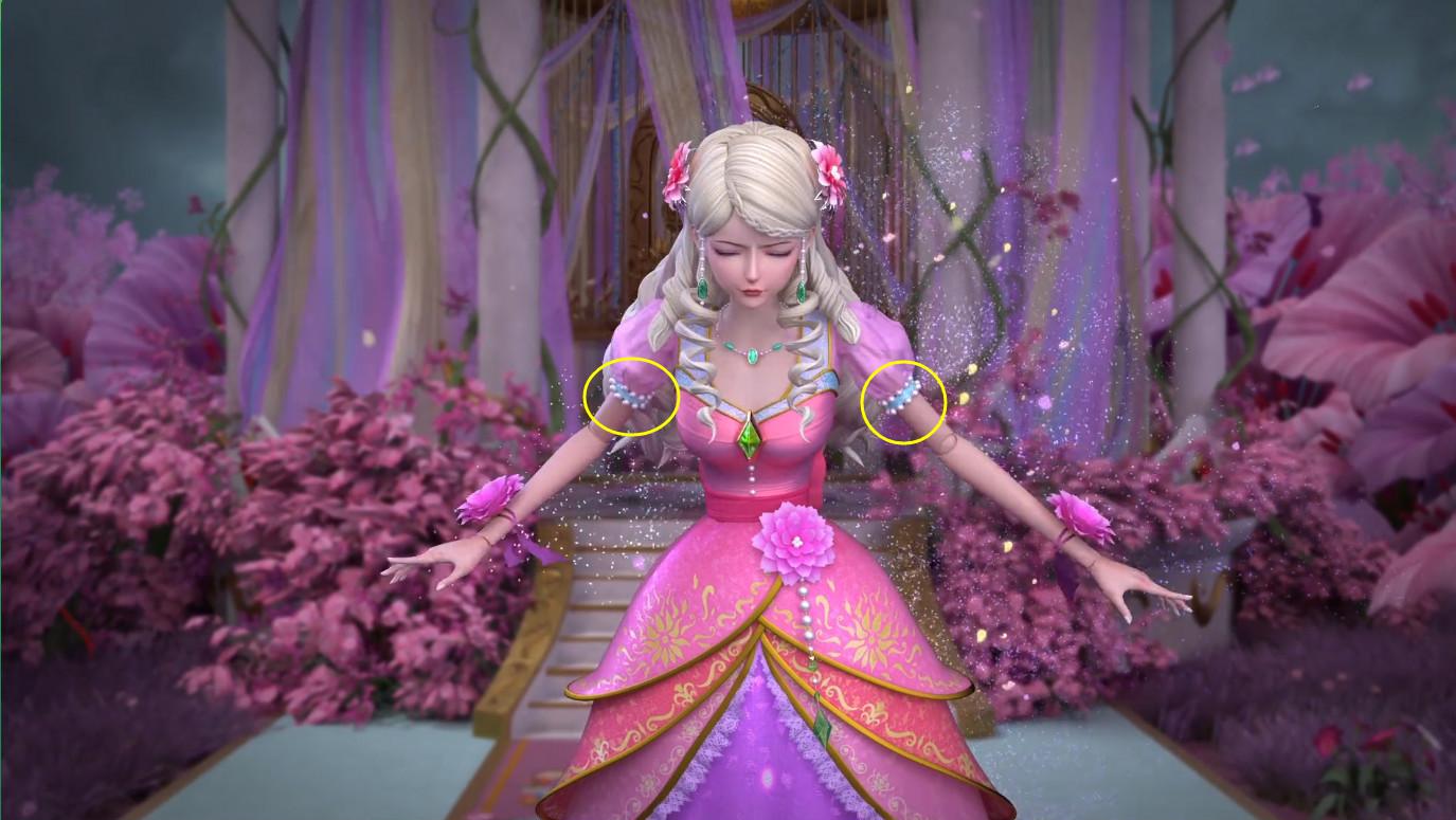 叶罗丽第六季25集:灵公主穿帮竟穿旧衣服?是大意照旧刻意为之?