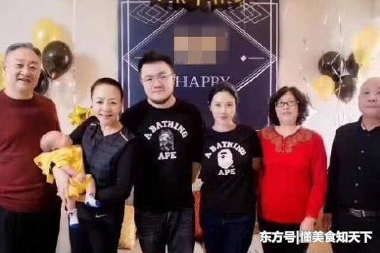 57岁的宋丹丹当奶奶了?全家福公开