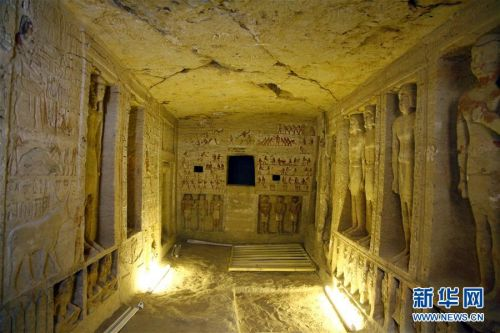 开罗发明祭司墓葬怎样回事?4400年前的祭司墓葬是什么样的外景曝光