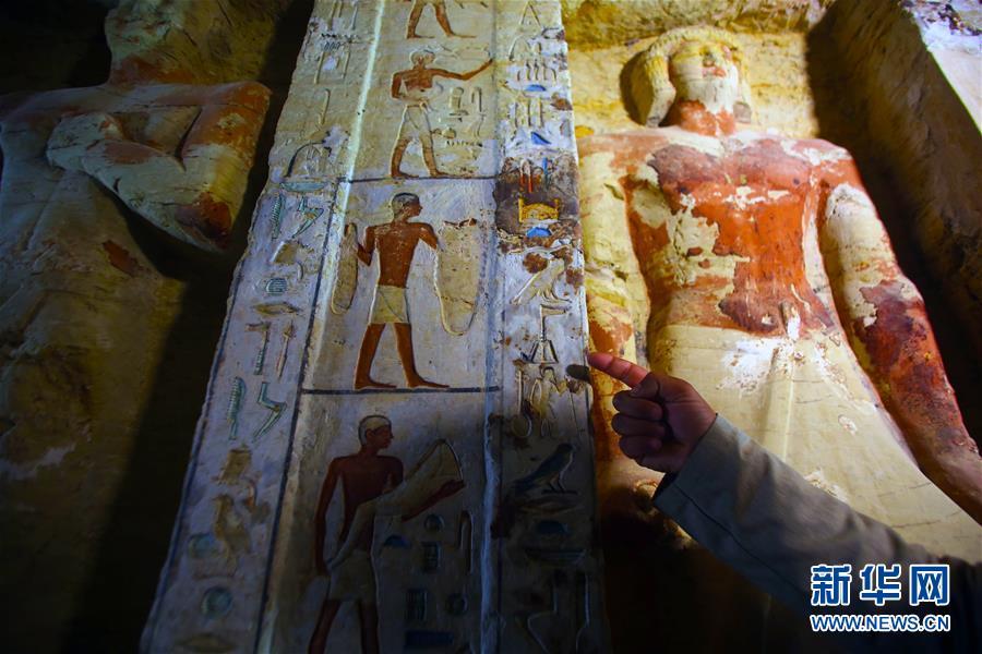 开罗发明祭司墓葬高清图曝光 祭司墓葬内里有什么概况先容