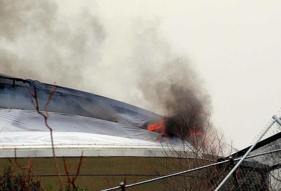 英国植物园火警现场照片曝光浓烟滔滔 英国植物园火警概况先容