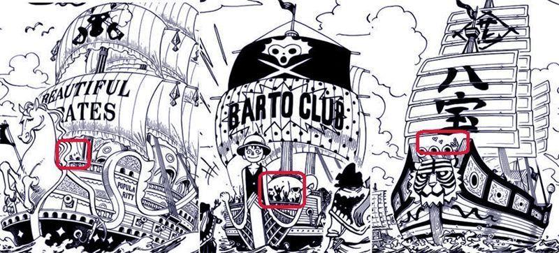 海贼王928话:巴托对火灾路飞逃走,草帽团集合