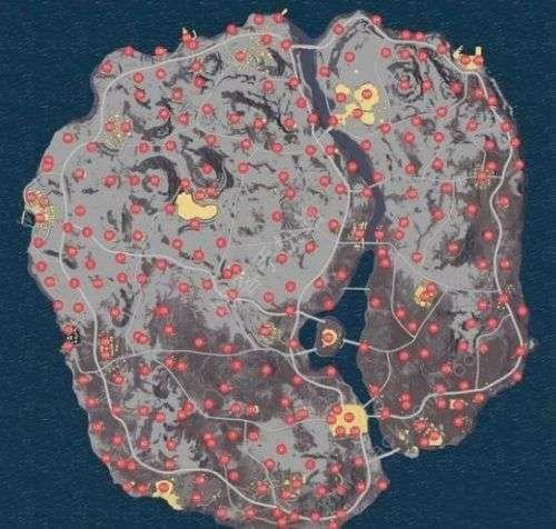 刺激战场雪地地图怎么发育 雪地地图什么地方资源丰富