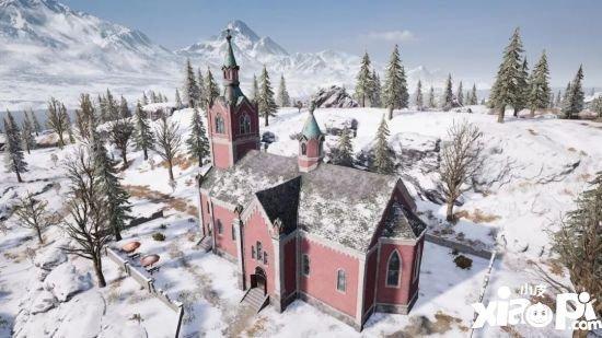 刺激战场雪地地图有哪些新建筑 雪地地图教堂介绍