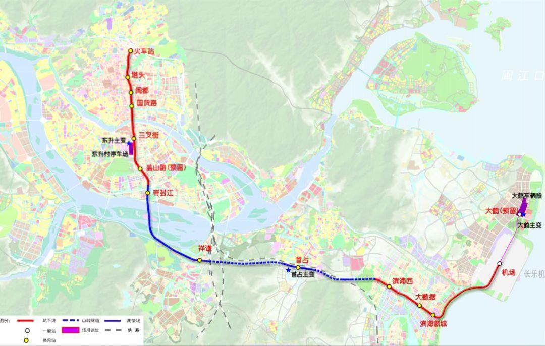 福州地铁全解读!3789号线到底变了什么?2456号线进展如何?