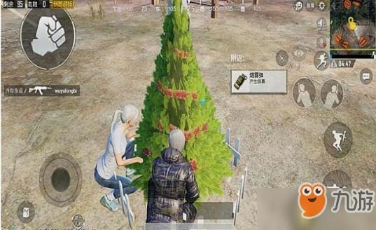 绝地求生刺激战场圣诞模式巨大圣诞树位置 巨大圣诞树在哪
