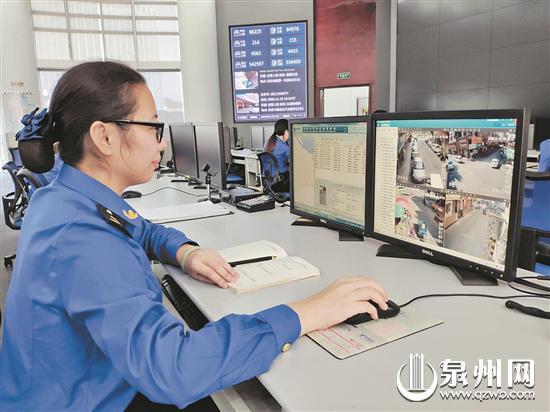 """晋江开展数字化城市管理建设 用""""智慧城管""""诠释""""为民管城"""""""