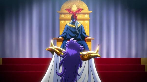 圣斗士星矢少女翔第3集:雅典娜被绑在蜘蛛网上