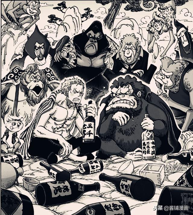 海贼王929话情报:索隆被称呼为美男子和大少爷 被领去见猴老大