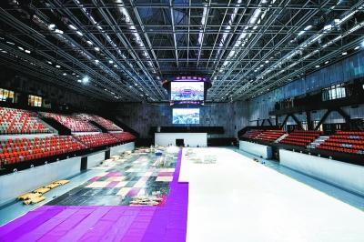 首钢冬奥训练中心冰球馆建成 将实现多功能转换