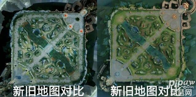 王者荣耀2019新春版新地图:s14新版主宰,暴君,兵线图片