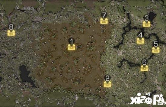 明日之后茅斯沼泽探索宝箱在哪 茅斯沼泽8个探