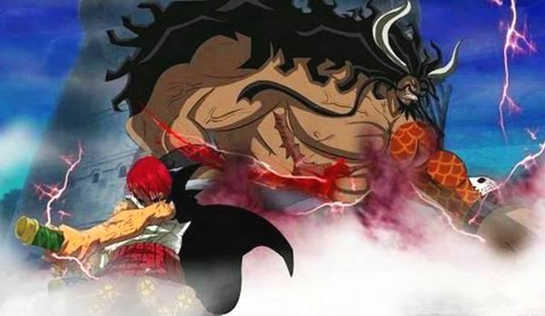 海贼王:四皇共有6次败仗 香克斯输1次黑胡子输2次