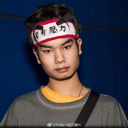 P小吴大赛怎么回事 发际线男孩小吴时尚大片被玩坏了