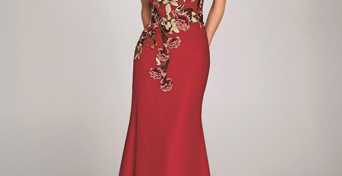 婚纱礼服中的红色系列,你最爱哪一款?