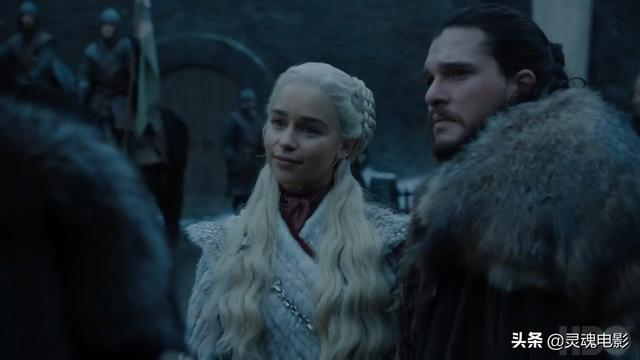 《权力的游戏》最终季新剧照曝光,狼家掌舵人终于向龙妈俯首称臣