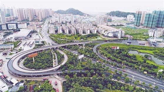 """缓解中央城区交通压力 绕城通道能否使用区间""""高速""""?"""
