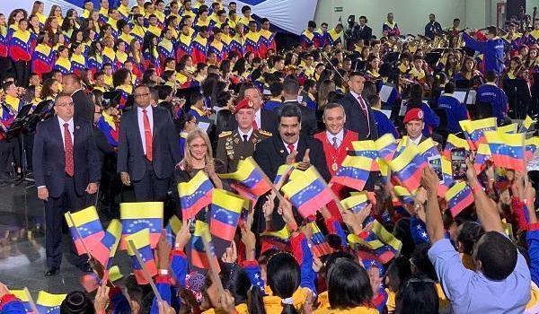委内瑞拉总统马杜罗宣誓就职 开始了其为期6年的第二任期