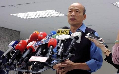 韩国瑜:九二共识是两岸互动的定海神针