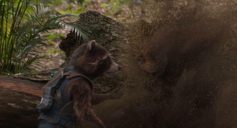 复联4最新剧情曝光 拯救钢铁侠的是火箭浣熊?