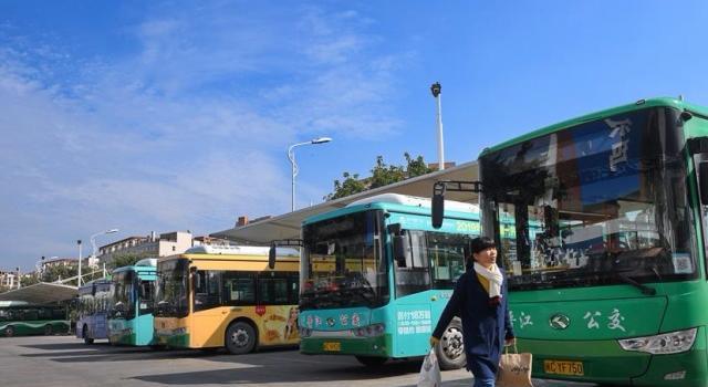 泉州晋江大力发展绿色公交