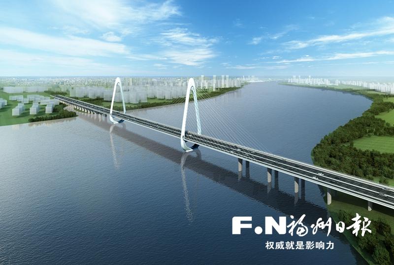 闽侯大县城迈出跨江发展新步伐