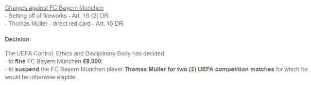 利物浦欧足联禁赛怎么回事?球星穆勒做了什么被欧足联禁赛